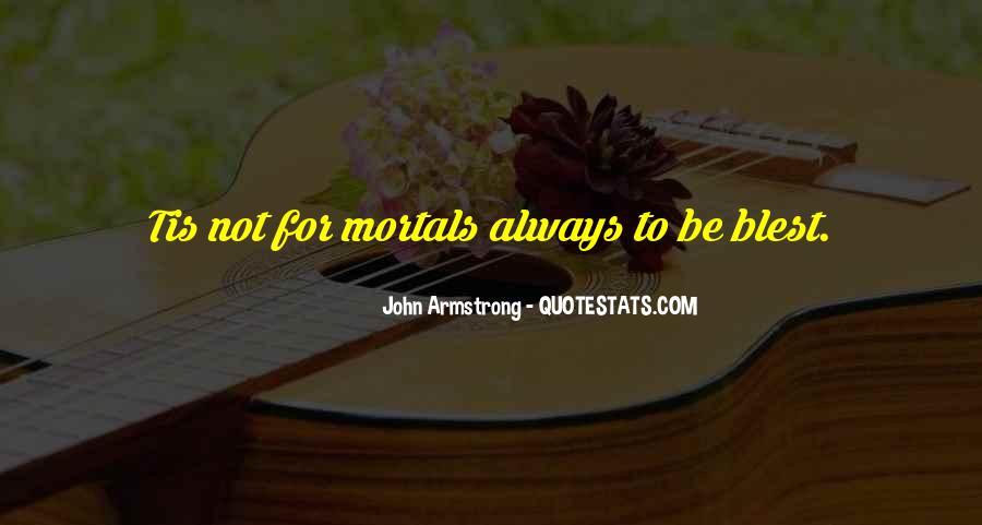 Blest Quotes #536158