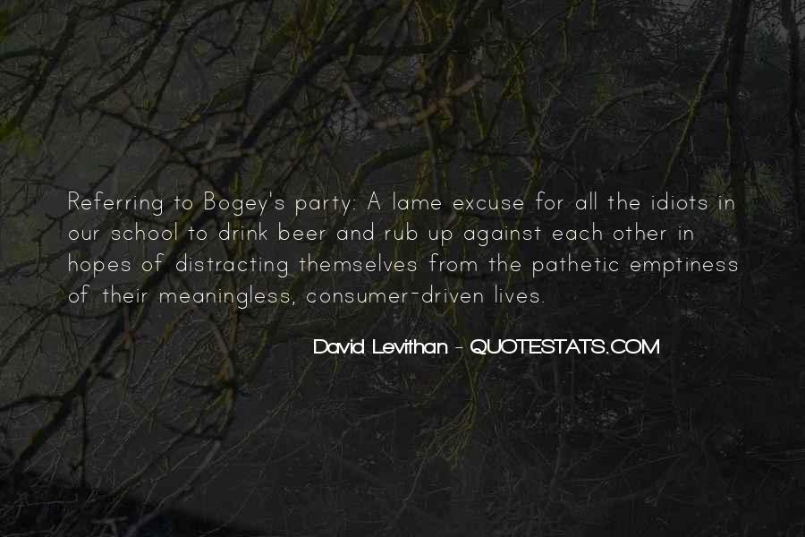 Bogey's Quotes #1206331