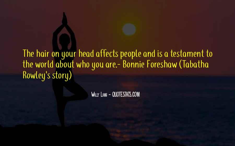 Bonnie's Quotes #100911