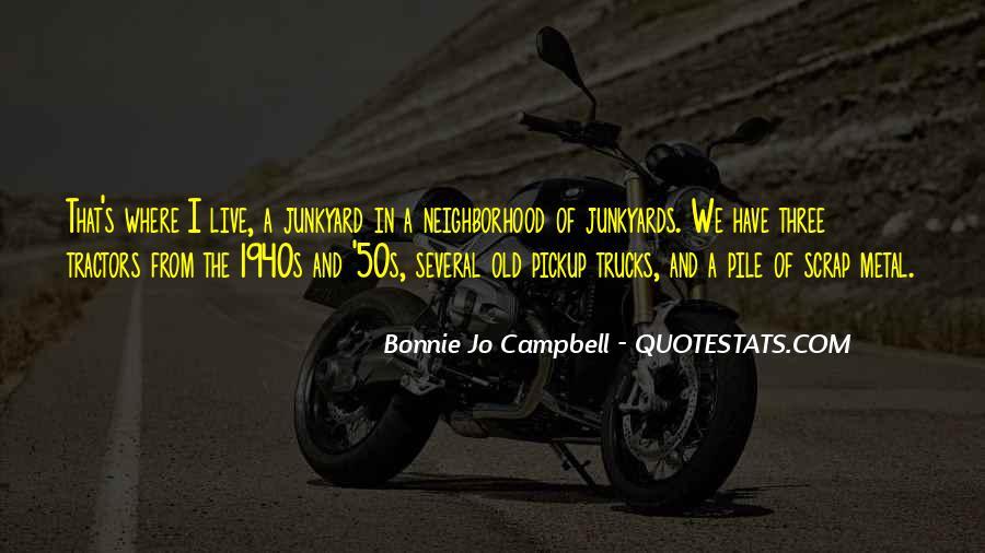Bonnie's Quotes #134885