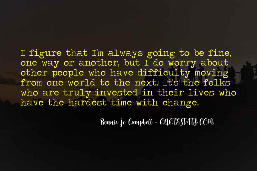 Bonnie's Quotes #527563