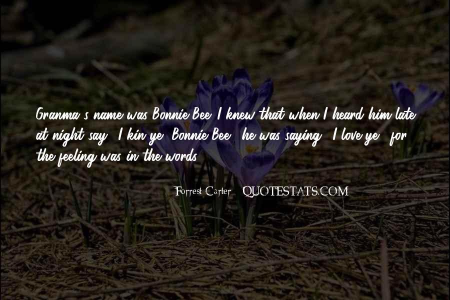 Bonnie's Quotes #856080