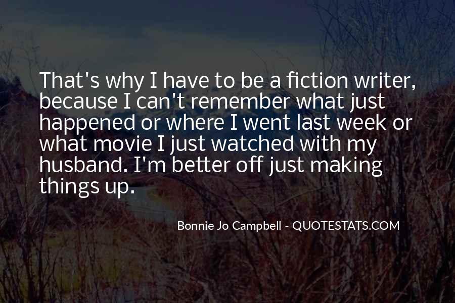 Bonnie's Quotes #898138