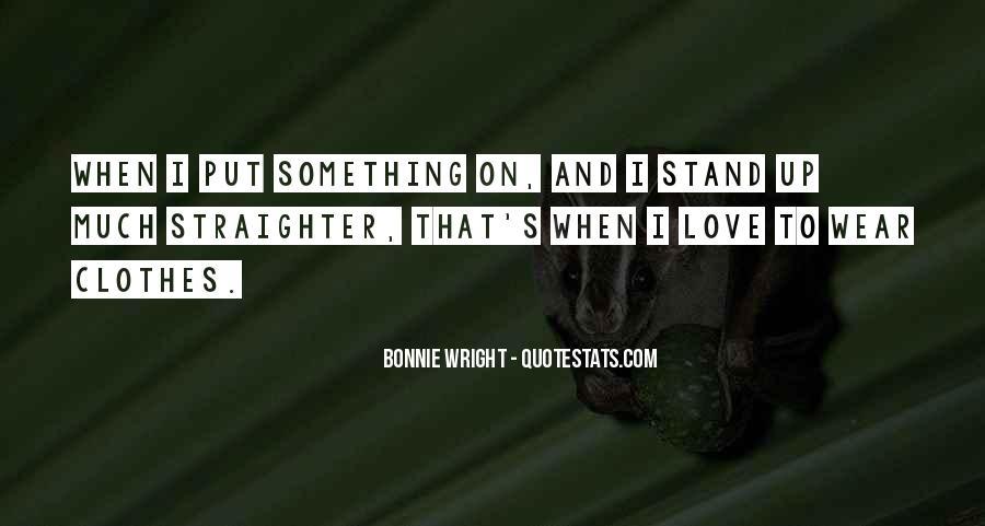 Bonnie's Quotes #933694