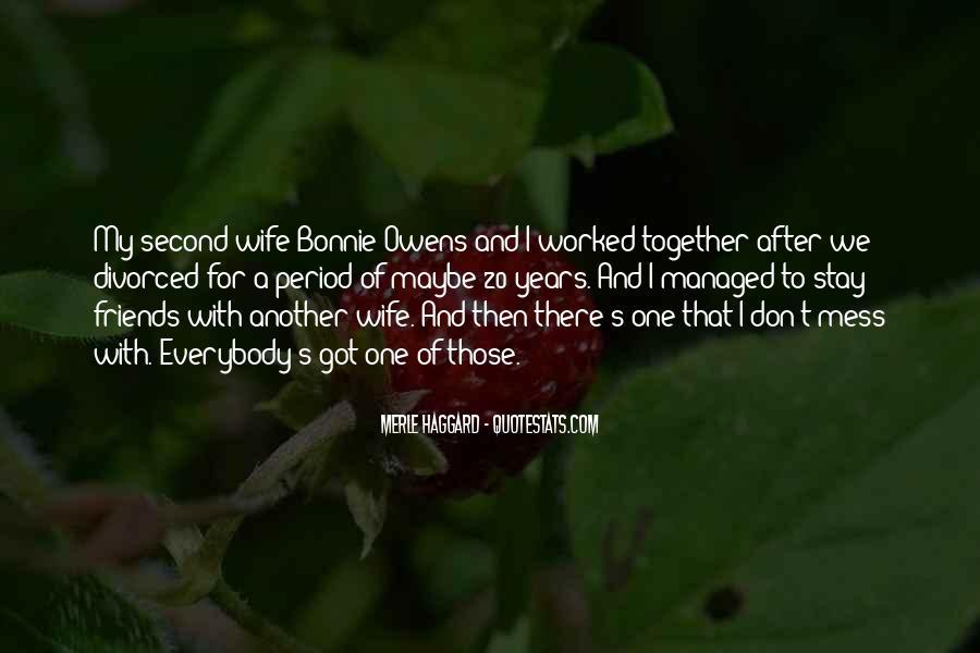 Bonnie's Quotes #993020