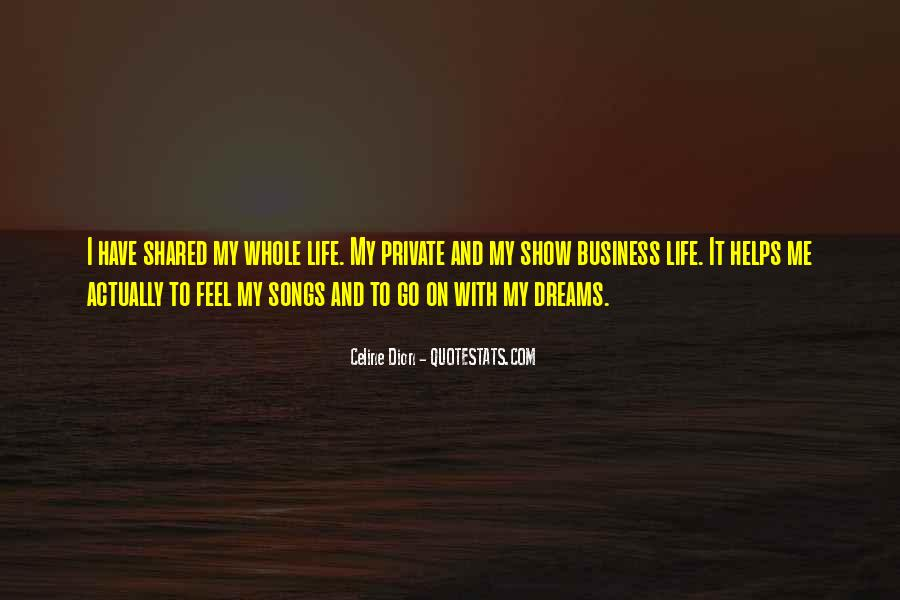Quotes About Life Dreams #26114