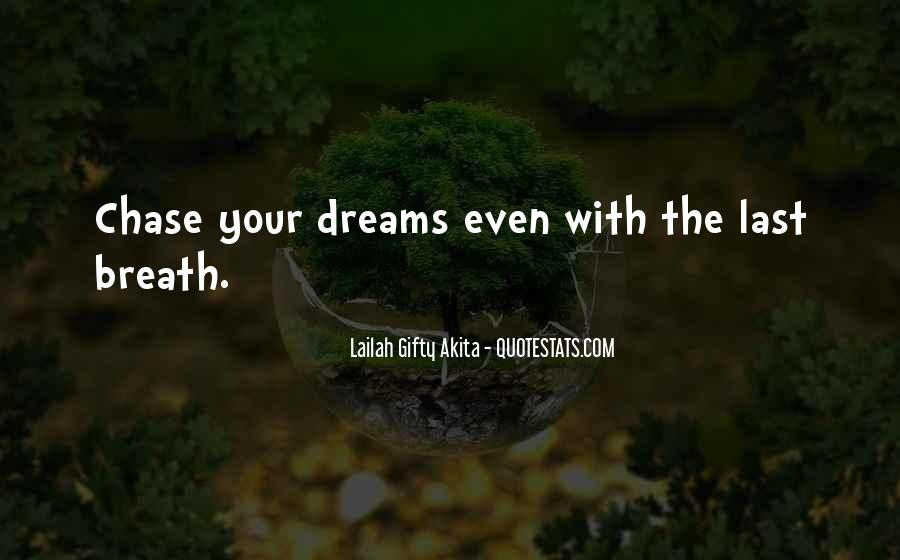 Quotes About Life Dreams #3261