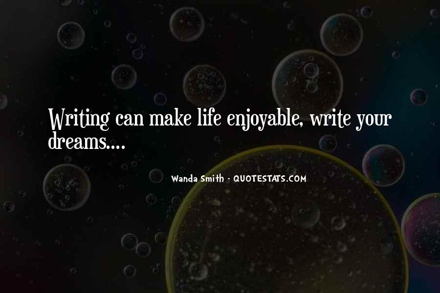 Quotes About Life Dreams #41453
