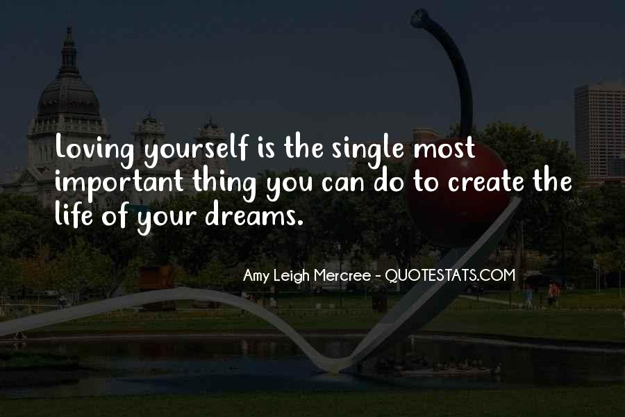 Quotes About Life Dreams #43779