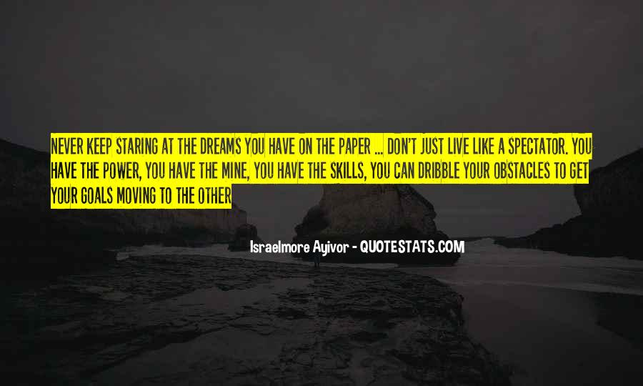 Quotes About Life Dreams #66658