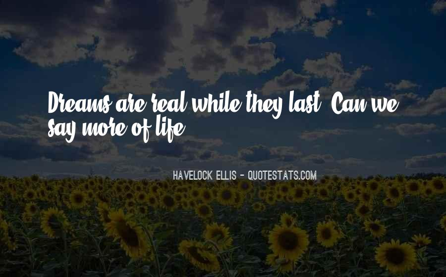 Quotes About Life Dreams #80217