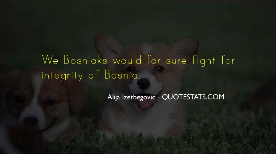 Bosniaks Quotes #1278547