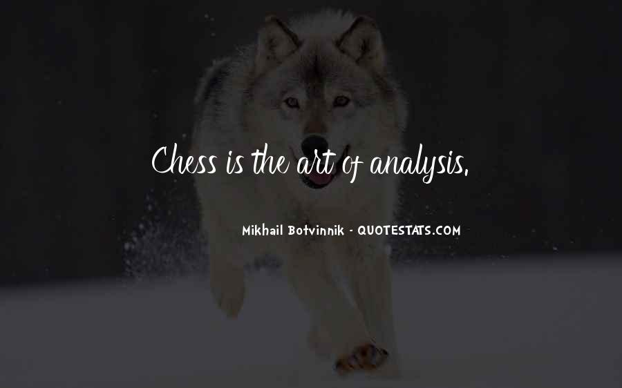 Botvinnik's Quotes #1104148
