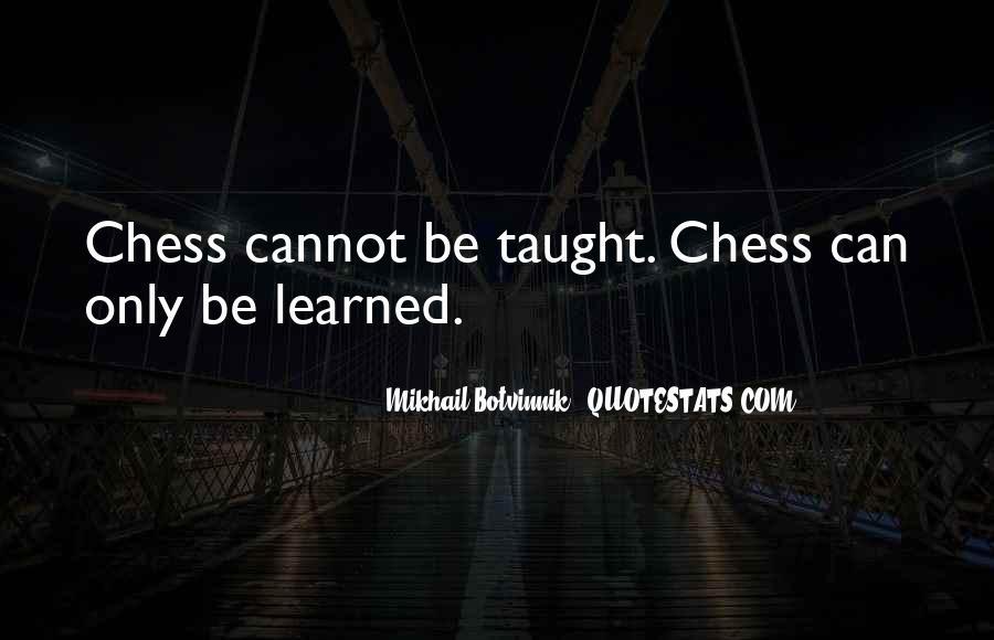 Botvinnik's Quotes #1262176