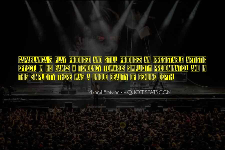 Botvinnik's Quotes #1303277