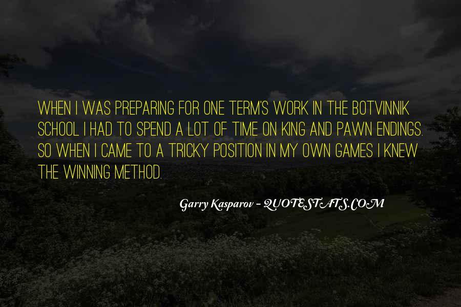 Botvinnik's Quotes #1312473