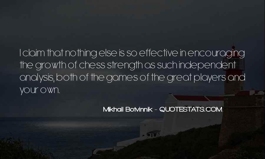 Botvinnik's Quotes #1449544