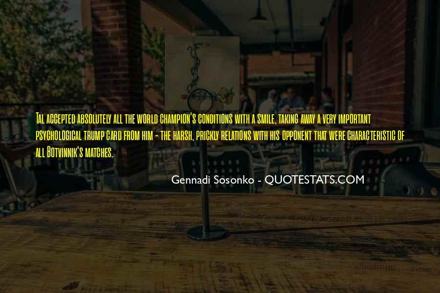 Botvinnik's Quotes #216833
