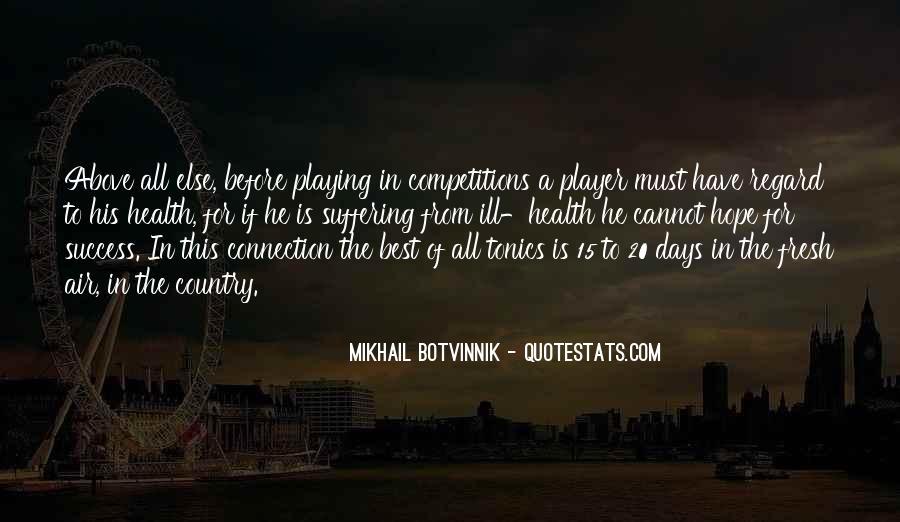 Botvinnik's Quotes #339060