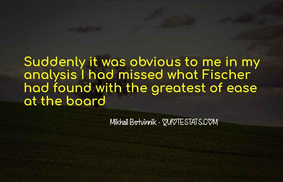 Botvinnik's Quotes #671209