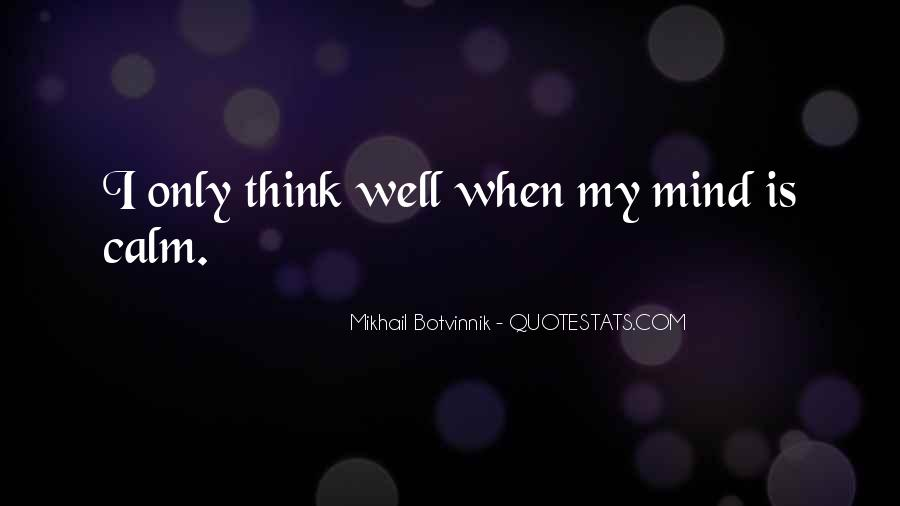 Botvinnik's Quotes #733498