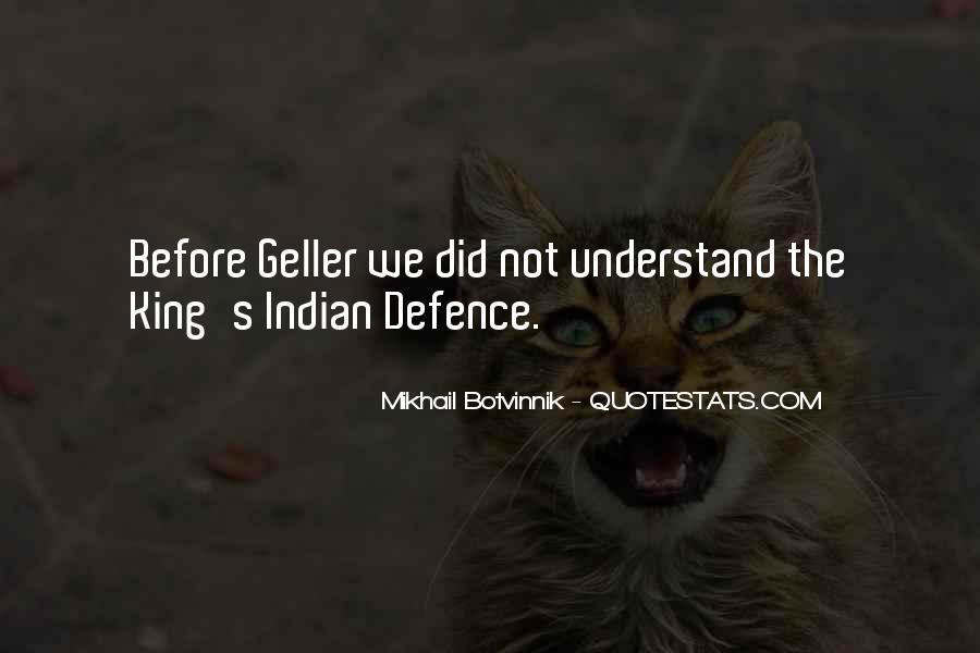Botvinnik's Quotes #745936