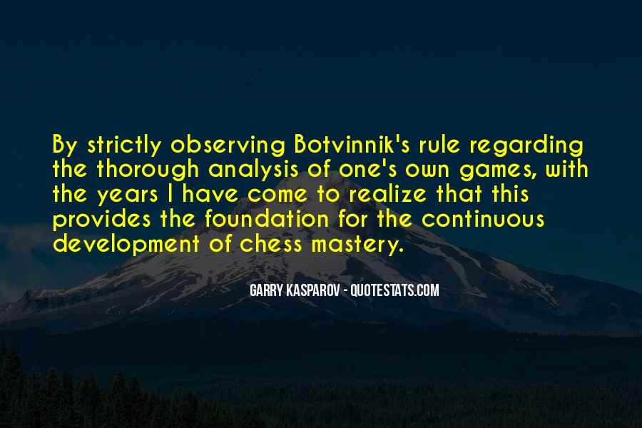 Botvinnik's Quotes #751059