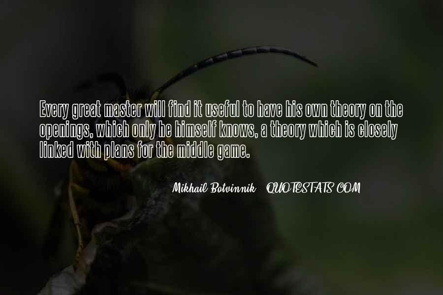 Botvinnik's Quotes #903140