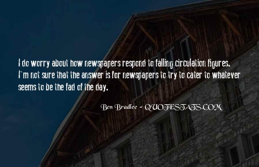 Bradlee's Quotes #1693055
