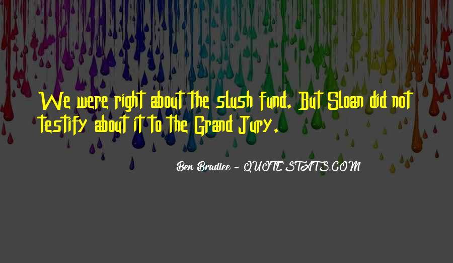Bradlee's Quotes #1752704
