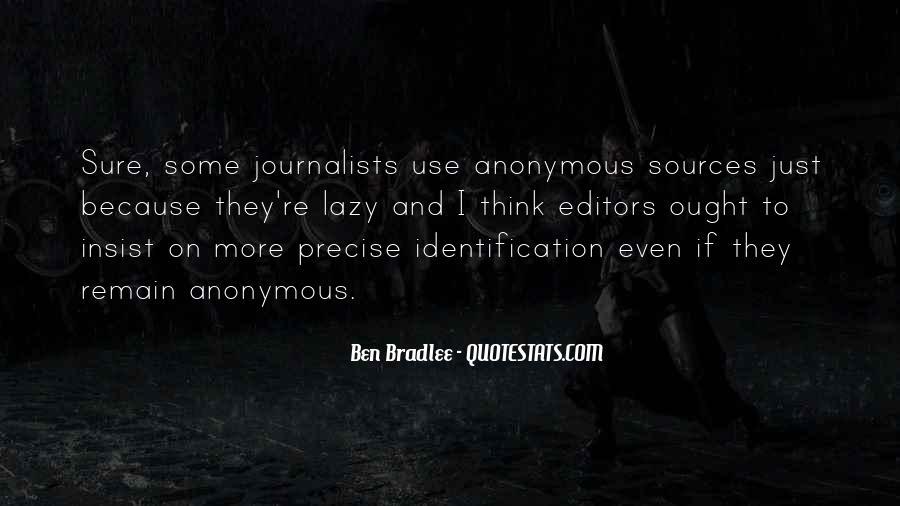 Bradlee's Quotes #265649