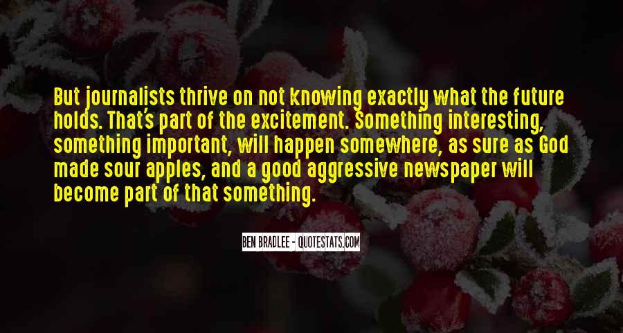 Bradlee's Quotes #304072
