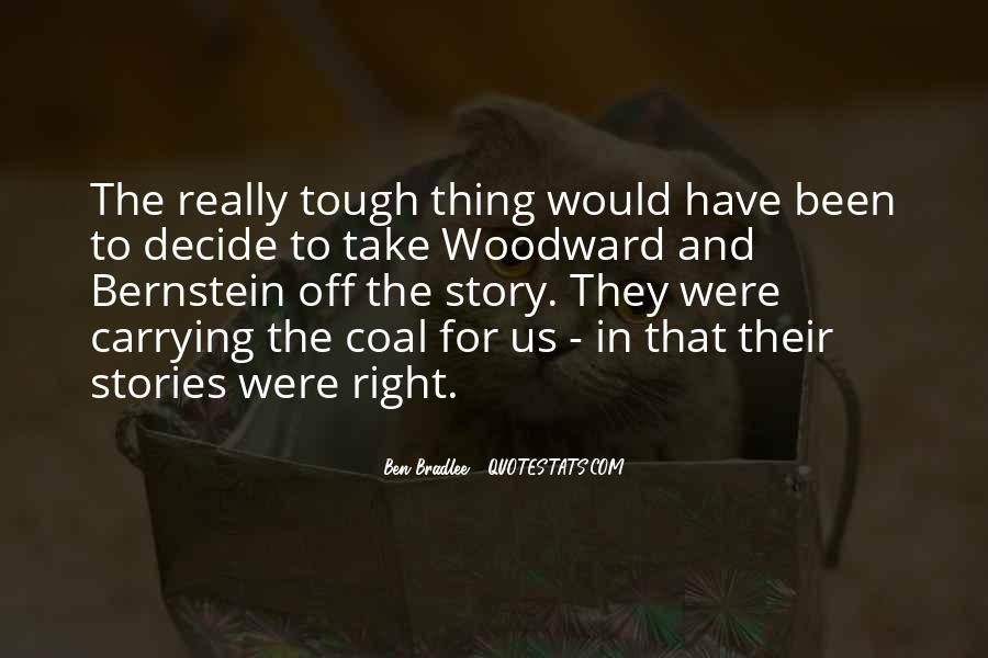 Bradlee's Quotes #53997
