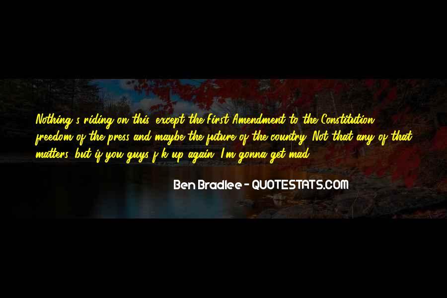 Bradlee's Quotes #547898