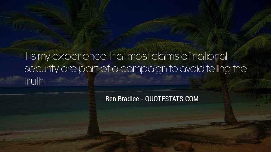 Bradlee's Quotes #694937