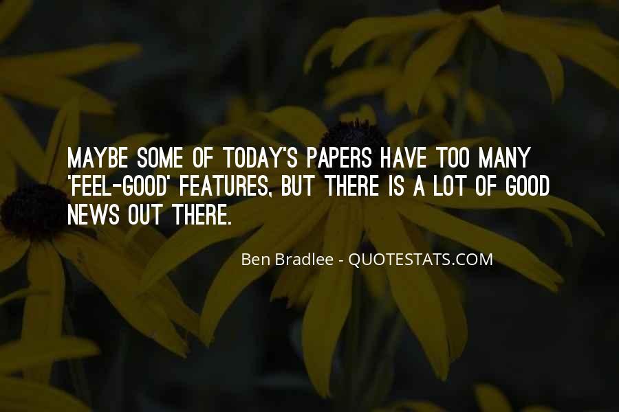 Bradlee's Quotes #696845