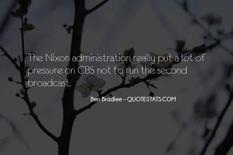 Bradlee's Quotes #699857