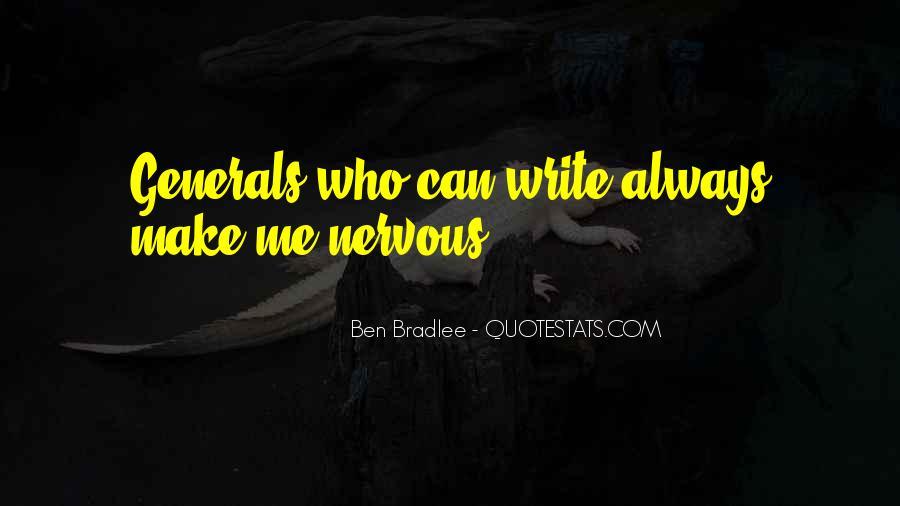 Bradlee's Quotes #730704