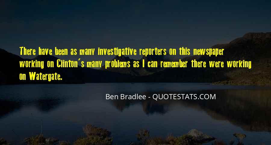 Bradlee's Quotes #860458