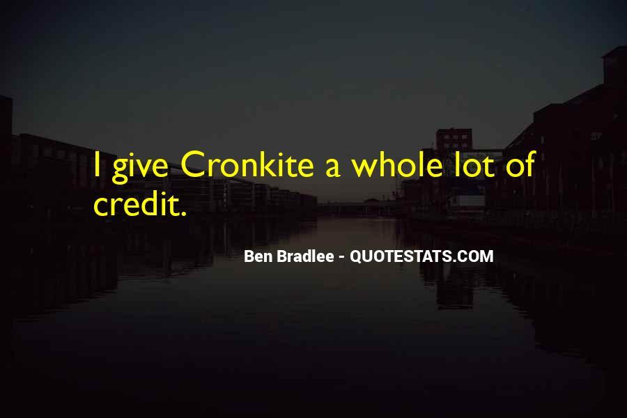 Bradlee's Quotes #984038