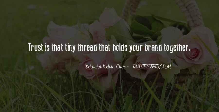 Brand'em Quotes #30855