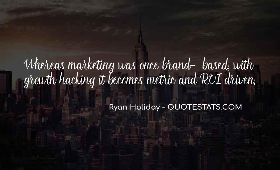 Brand'em Quotes #84639