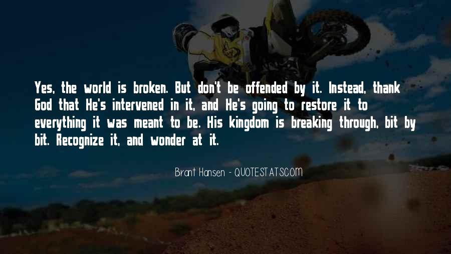 Brant's Quotes #1024715