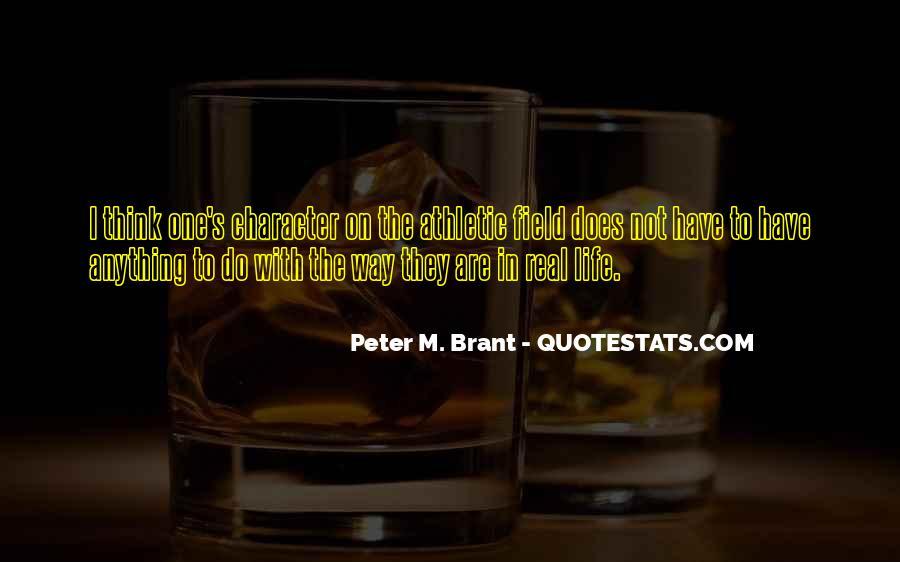 Brant's Quotes #254576