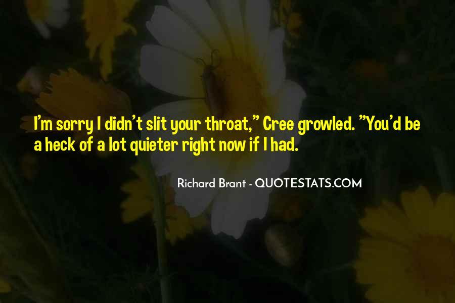 Brant's Quotes #505726