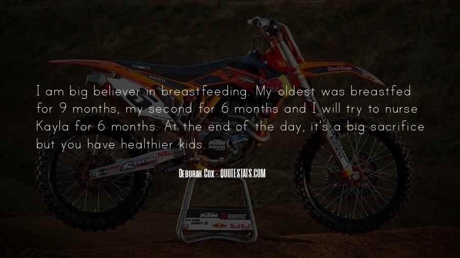 Breastfed Quotes #645425