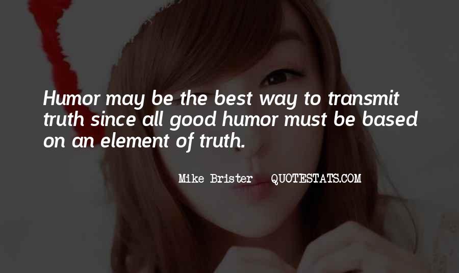Brister Quotes #1054085