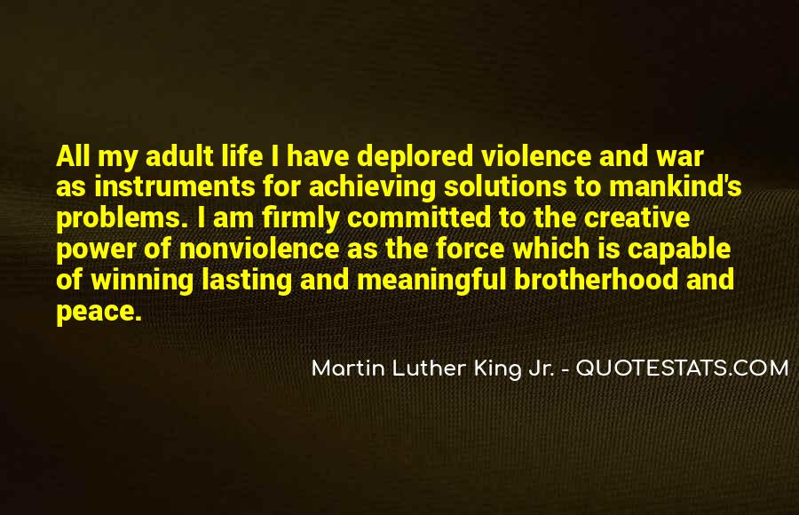 Brotherhood's Quotes #1306952