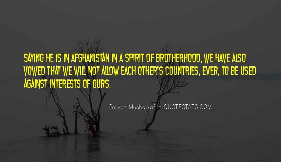 Brotherhood's Quotes #228338