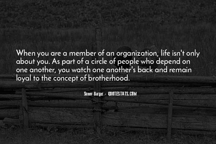 Brotherhood's Quotes #506091